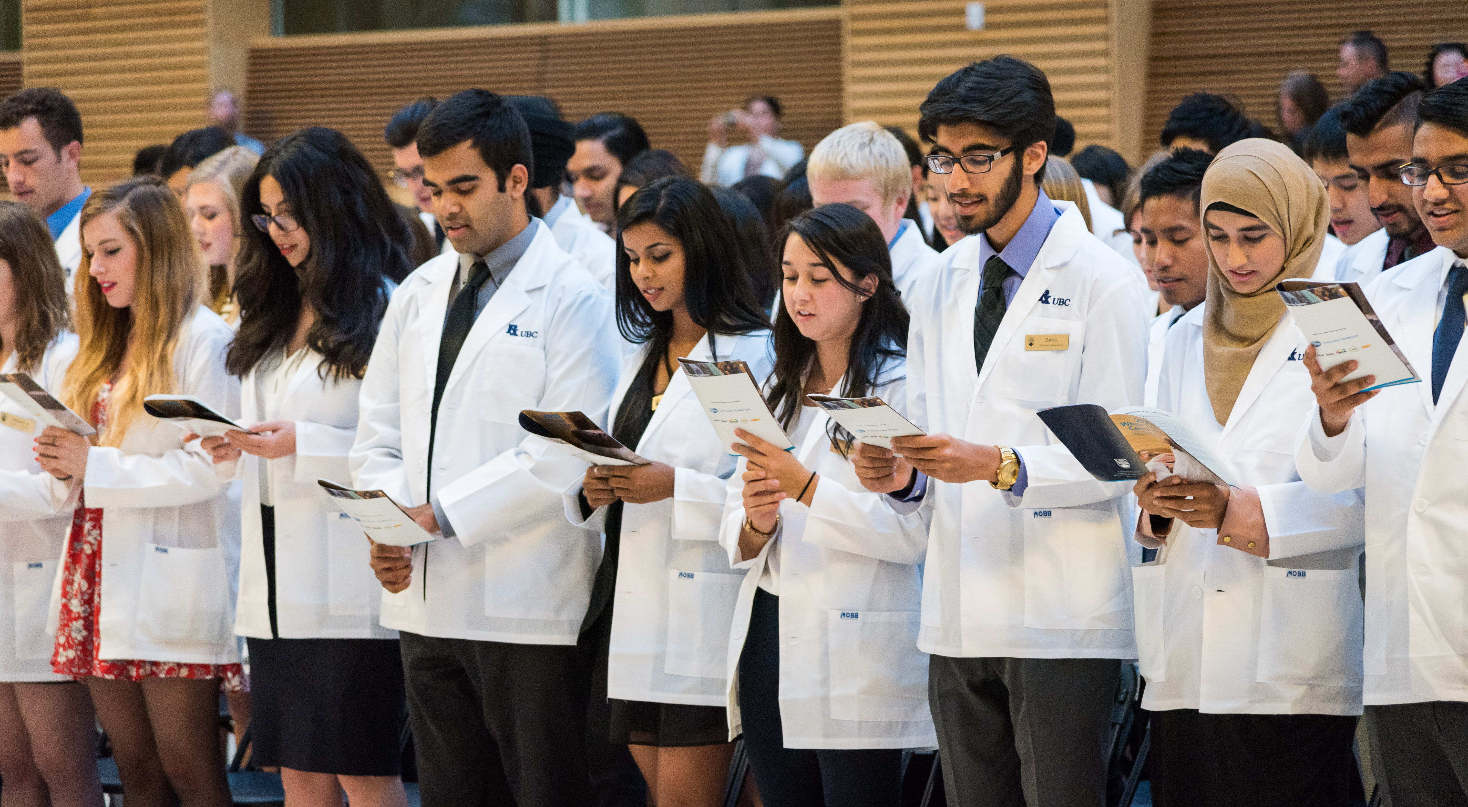 Class of 2019 at the 2015 White Coat Ceremony
